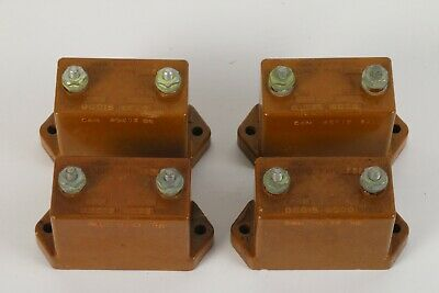 Sangamo Type F21 Mica Capacitor Lot of 4