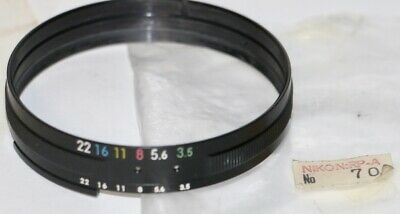 Nikon AI Modification Part Set 70 Mint In Package For Early 43-86mm f3.5 NIkkor