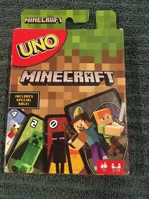 Uno MINECRAFT Card Game FAMILY Fun for Kids Of All Ages!