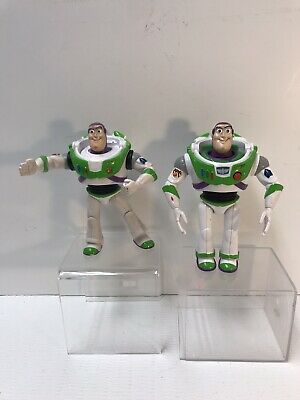 "Disney TOY STORY 6""  BUZZ LIGHTYEAR LOT 2 FIGURES: 1 Karate Chop / 1 Talking"