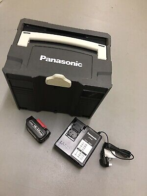 Genuine Panasonic Empty Carry Case 18V Drill Battery 5.0 Charger Cordless
