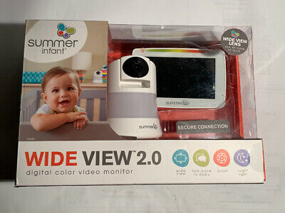 Summer Infant WIDE VIEW 2.0 DUO DIGITAL VIDEO MONITOR WITH 1 CAMERA Baby BN