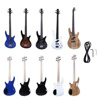 New School Student 4 Strings 24 Frets Electric Bass Guitar 5 Colors