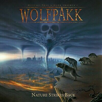 WOLFPAKK - Nature Strikes Back - Digipak-CD - 4028466910974