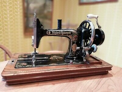Beautiful antique Sewing Machine Frister & Rossmann