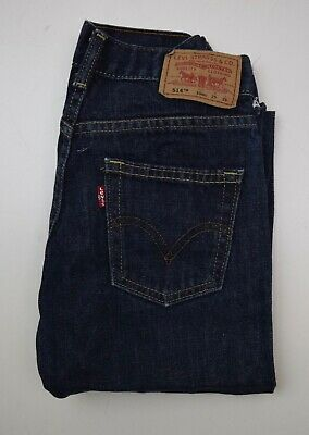 J2240 Levi's 515Tm Boys Blue Denim Jeans 10Reg W25 L25