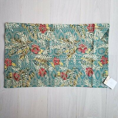Pottery Barn Aran embroidered 16 X 26 lumbar Pillow cover  multi New wo tag