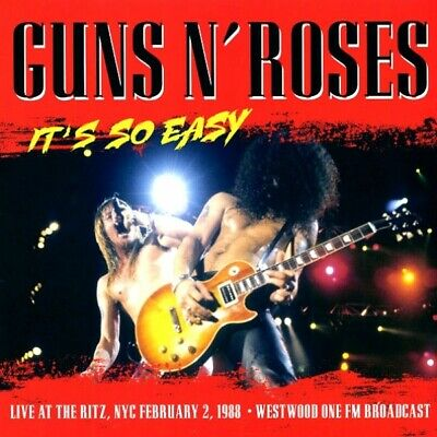 Guns N' Roses It's So Easy LP ~ Live At The Ritz, NYC 2/2/88 ~ Sealed!!!