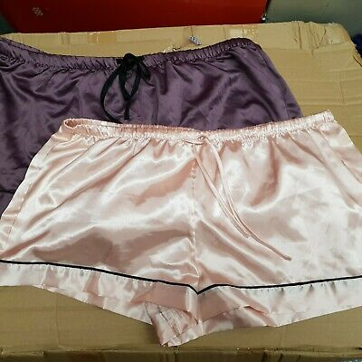 Soft peach pink satin  French Cami Knickers Sizes 8 10 12 14 16 20 22