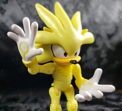 Sonic the Hedgehog Silver /& Iron Box 3in Action Figure Jazwares Toys
