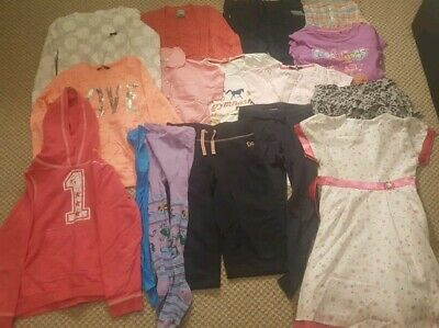 Girls Clothes Bundle Size 7-8 years 17 items Next, M&S, TU, Pumpkin Patch