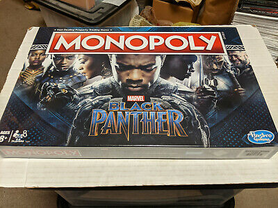 Monopoly Game: Black Panther Edition Board Game NEW SEALED