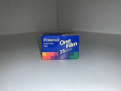 Polaroid One Color Print Film 35 MM 12 Exp  New (Expired 1992)