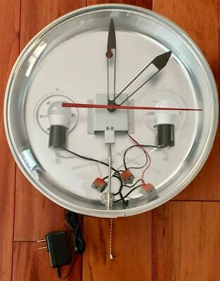 NEW Pam Clock Style Can Motor Hands Lights Bezel Trim Ring, Outer Dome Glass