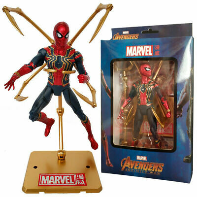 Hot Sale Avengers Iron Spiderman PVC Action Figure Super Hero Collectible Model