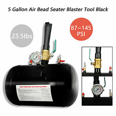 5 Gallon Heavy Duty Air Tire Bead Seater Blaster Tool Seating Truck ATV 145PSI