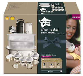 Tommee Tippee Closer to Nature Complete Feeding Set (Brand New - White)