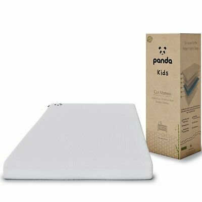 Panda Kids Memory Foam Bamboo Mattress (Cot / Cot Bed)