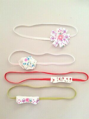 Baby headband, toddler hair band set, handmade skinny elastic headbands SALE!!!