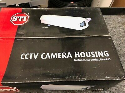 CCTV Camera Housing, STI 7000K, incl mounting bracket.