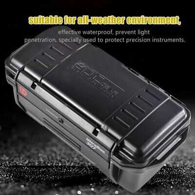 Outdoor Shockproof Sealed Waterproof Safety Case Plastic Tool Dry Storage Box
