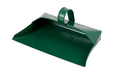 Groundsman Metal Dustpan Green