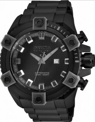Invicta Reserve 63mm Grand Octane Combat Black Ltd Ed Swiss Automatic Watch #2!