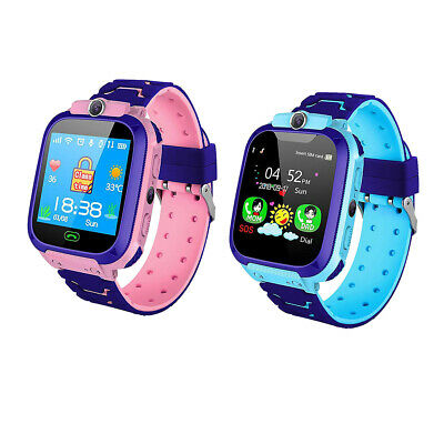 Q12 Non-Waterproof Heart Rate LBS Locator Kids Digital Smart Watch Phone Monitor