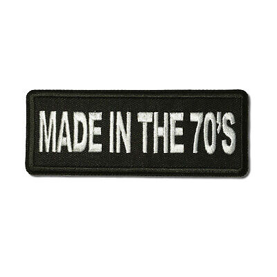Embroidered Untamed Sew or Iron on Patch Biker Patch