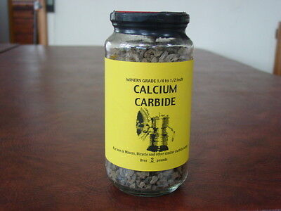 Miners Grade Calcium Carbide 2 pounds. LOCAL PICKUP ONLY