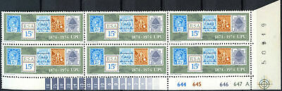 South Africa 1974 SG#347 UPU Centenary MNH Block #E9285