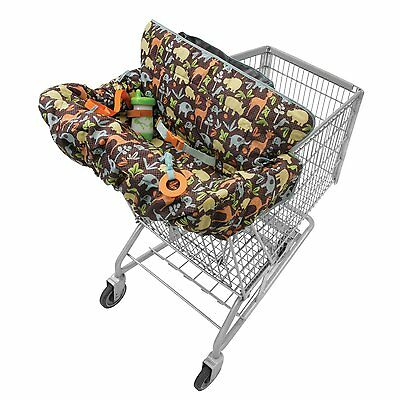Baby Grocery Cart Stroller Cushion Cover Seat Chair Bag Toddler Kids Portable