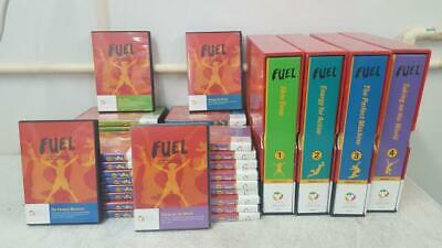 CHEF Comprehensive Education Foundation FUEL Educational DVD VHS Series+Binders