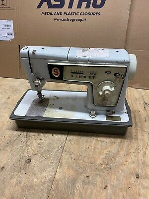 Vintage Singer Stylist 478 Sewing Machine A10