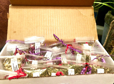 Choose 40 2x3 bags of Wiccan/Pagan Herbs Box for your Witchcraft Supplies