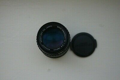 Pentax SMC Pentax-M f/3.5 135mm Telephoto Prime Lens with Caps P/K Mount - As Is