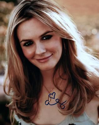 Alicia Silverstone signed 8x10 Picture Photo autographed with COA