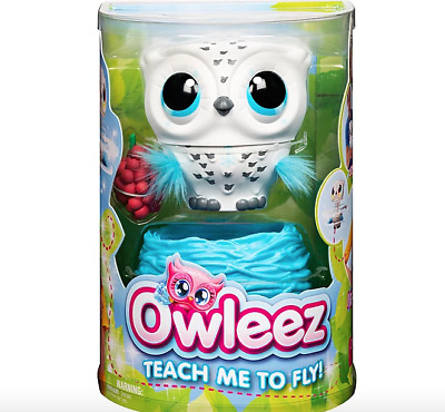 Owleez Flying Baby Owl Interactive Toy with Lights and Sounds | Brand New!!!
