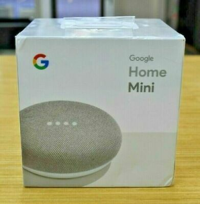 Google Mini Google Personal Assistant - CHALK - Brand New Sealed