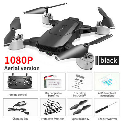 Foldable Drone 4K/1080P HD Camera Optical Flow Position WIFI FPV Quadcopters New