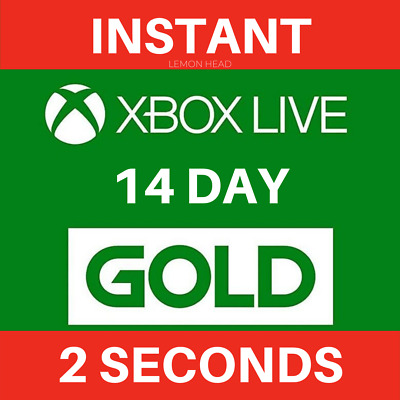 Xbox Live 14 Day Gold Trial Code Instant Dispatch 24/7