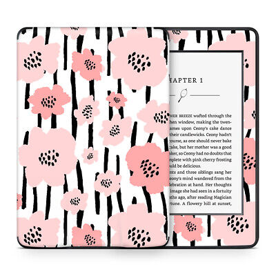 Peach Peony Skin Sticker Decal Protective Wrap to cover Kindle Paperwhite
