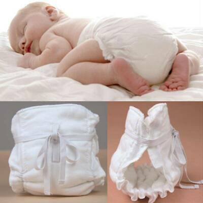 Newborn Adjustable Washable Reusable Cloth Diaper Pocket Nappy Cover Wrap XS