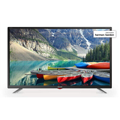 "Sharp 40"" Inch LED Smart TV Television Full HD 1080p with Freeview Play HD (A+)"