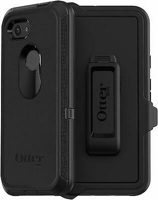 OtterBox Defender Series Case and Holster Protective for Google Pixel 3A - Black