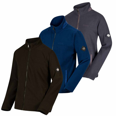 Regatta Mens Giffard Honeycomb Adjustable Drawcord Fleece Jacket