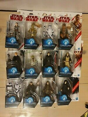 """Hasbro Disney Star Wars Force Link 3.75"""" Action Figures Choose Your Own New"""