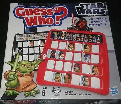 Guess Who? Star Wars Hasbro Classic Kids Board Game - Darth Vader - GuessWho
