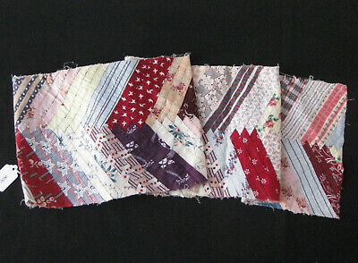 ANTIQUE PATCHWORK STRIP, dressmaking, craft projects, Quilts, cushions