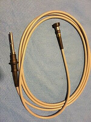 Olympus Maj-1413 Light Guide Adpter With Olympus Cable Used